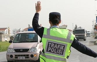 12 araç trafikten men edildi