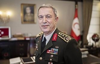 """Akar: """"Kıbrıs'ta, Ege'de ve Doğu Akdeniz'de Türkiye'ye rağmen atılacak hiçbir adıma izin vermeyeceğiz"""""""