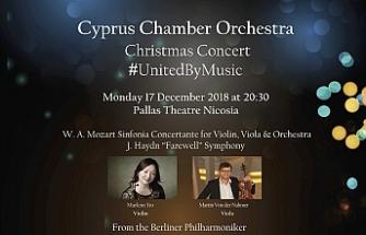 İki toplumlu Kıbrıs Oda Orkestrası konseri 17 Aralık'ta