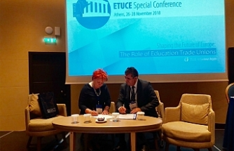KTÖS, Avrupa Öğretmen Sendikaları ile işbirliğini genişletiyor