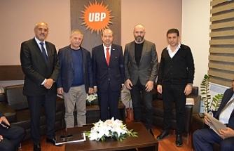 Mütahitler Birliği'nden UBP'ye ziyaret