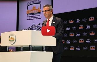 Uluçay, Parlamentolararası Kudüs Platformu konferansında konuştu