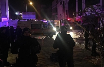 Ankara'da yangın...5 işçi yaşamını yitirdi