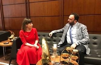 Bakan Çeler, Ankara'da temaslarına başladı