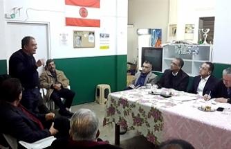 CTP köy toplantıları kapsamında Akçay'daydı