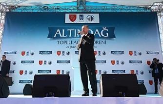 """Erdoğan: """"Rumlar ve kimi CHP milletvekilleri istemiyor diye  petrol arama faaliyetlerimizi durdurmayacağız."""""""
