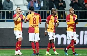 Galatasaray'dan 4 gol