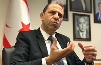 """Özersay: """"Kıbrıs'ta paylaşmaya dayalı federal ortaklık modeli denendi ve tüketildi"""""""