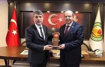 """Tatar: """"Türkiye'nin desteği ile büyük hedeflere ulaşabiliriz"""""""