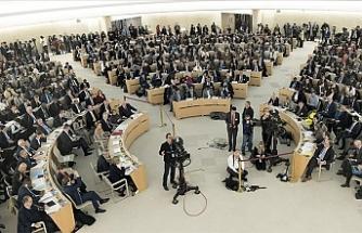BM İnsan Hakları Konseyi İsrail'i kınayan karar tasarısını kabul etti