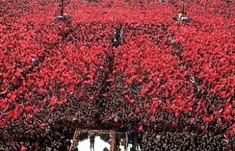 """Cumhur İttifakı'ndan Yenikapı'da """"Büyük İstanbul Mitingi"""""""
