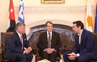 Güney Kıbrıs- Yunanistan-Ürdün arasındaki üçlü zirve nisan ayında