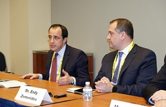 """Rum Bakan: """"Doğu Akdeniz'deki bölgesel işbirliği aynı düşüncedeki ülkelere açıktır"""""""