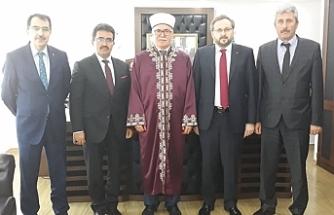 TC Diyanet İşleri Başkan Yardımcısı Argun, Atalay'ı ziyaret etti