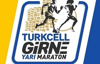"""""""Turkcell Girne Yarı Maratonu"""" düzenlenecek"""