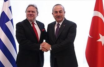 """Yunan Bakan: """"Türkiye'nin Doğu Akdeniz'deki haklarının farkındayız"""""""