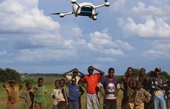 """Afrika'ya ilaç dağıtımında """"drone"""" dönem"""