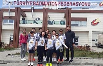 Badmintoncular Türkiye şampiyonasında