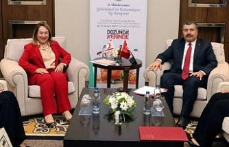 Besim, Türkiye'de mevkiidaşı ile görüştü