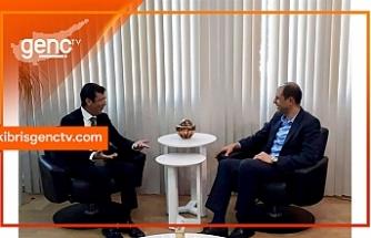 Özersay, Merkez Bankası Başkanı Günay ile görüştü