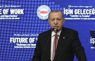 """Türkiye Cumhurbaşkanı Erdoğan: """"Seçim döneminde yaşanılan tartışmalar artık sona ermiştir"""""""