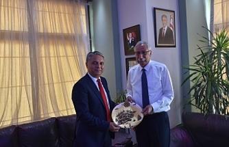Antalya Muratpaşa Belediye Başkanı'ndan Güngördü'ye ziyaret