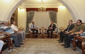 Cumhurbaşkanı Akıncı, Avcılık Federasyonu heyetini kabul etti