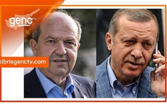 Erdoğan'dan Tatar'a tebrik telefonu