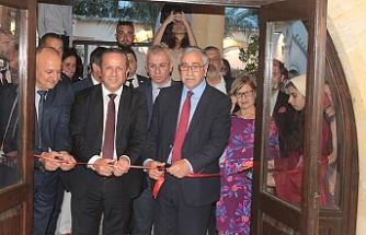 """""""Lüzinyan Evi - Orta Çağ'dan Günümüze Lefkoşa Müzesi"""" açıldı"""