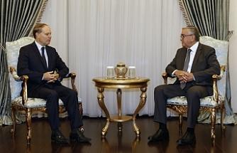 Akıncı, Fransa'nın Kıbrıs Büyükelçisi René Troccaz'ı kabul ederek görüştü