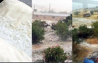 Bakanlık, doludan zarar gören bölgeleri açıkladı