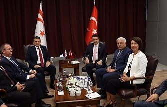 Dursun Oğuz'dan Ankara'da temaslar