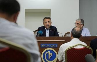"""Fuat Oktay: """"Kıbrıs Türkleri'nin bölgedeki haklarını sonuna kadar savunacağız"""""""