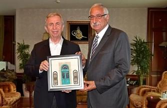 Güngördü'den Ankara Belediye Başkanı'na ziyaret