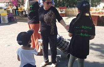 Güzelyurt İyilik Gönüllüleri 600 bardak su dağıttı