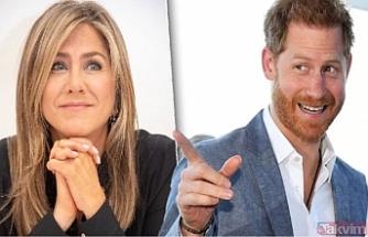 Prens Harry'nin dünyaca ünlü oyuncu Jennifer Anniston'a aşık olduğu iddia edildi