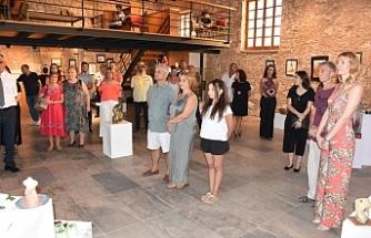Sanat Atölyesi Resim ve Seramik Sergisi açıldı