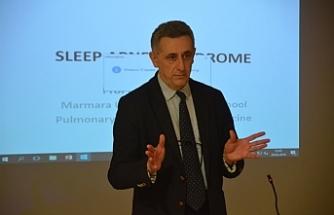 """""""Uyku Apnesi"""" konulu konferans düzenlendi."""