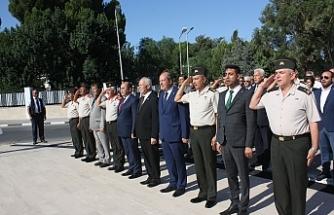 15 Temmuz Demokrasi ve Milli Birlik Gününde Şehitler Abidesi'nde tören