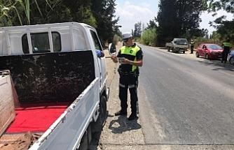 62 sürücü rapor edildi