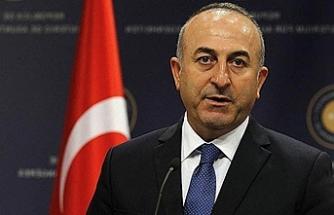 """Çavuşoğlu: """"Dün, bugün ve her zaman KKTC'yle birlikteyiz"""""""