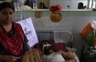 Hindistan'da beyin iltihabı salgını 177 can aldı