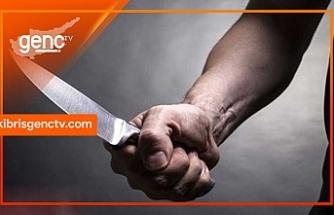 Karaoğlanoğlu'nda bıçakla yaralama