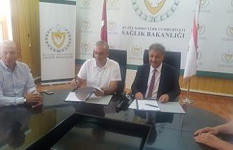 Kıbrıs Türk Futbol Federasyonu ile Sağlık Bakanlığı arasında protokol imzalandı