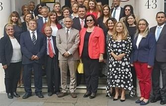 Londra Temsilcisi Oya Tuncalı, TC Londra Büyükelçisi Yalçın'ı ziyaret etti
