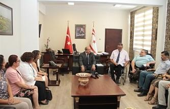 Tatar, Engelli Hizmetleri Koordinasyon Kurulu ile görüştü