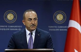 """Çavuşoğlu: """"Kılıçdaroğlu'na milli davamız Kıbrıs konusunda bilgi vermeye hazırız"""""""