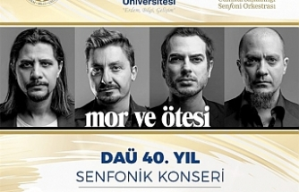 DAÜ 40.yıl senfonik konseri