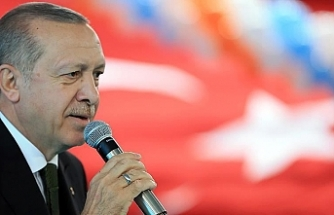 """Erdoğan: """"Hakları sonuna kadar savunacağız"""""""