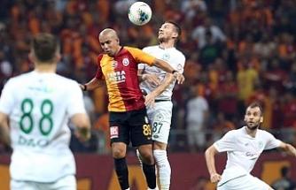 Galatasaray, yine galibiyetle tanışamadı